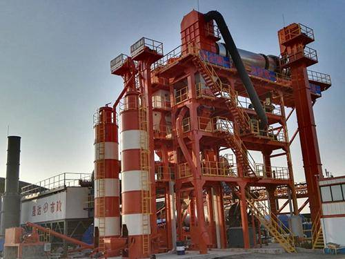 Hot Recycling Asphalt Plant